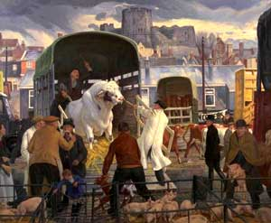 James Bateman - Cattle Market