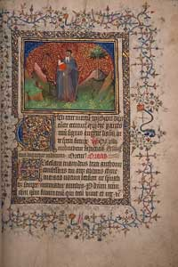 Burnet Psalter - Saint Anthony