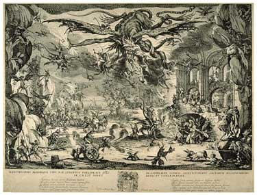 Jacques Callot - The Temptation of Saint Anthony