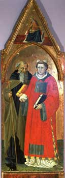 Bicci di Lorenzo - St. Anthony and St. Stephen
