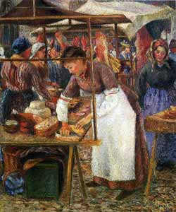 Camille Pissarro - The Pork Butcher